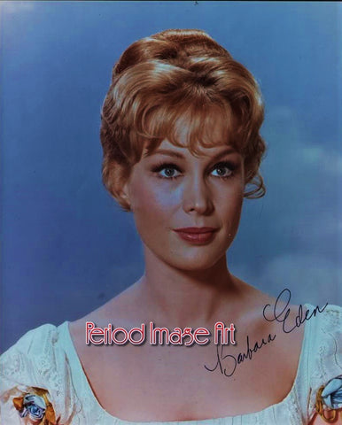 Barbara Eden Movie Actress TV Show Autograph Photo Image DD