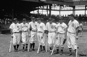 1937 American League All-Stars Baseball Photo Image DD