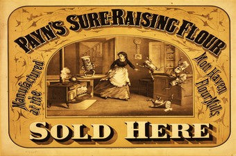 1900 Ryan's Sure Raising Flour Baking Ad DD