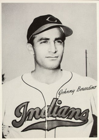 1948 Cleveland Indians Johnny Berardino AL Baseball Photo Image DD