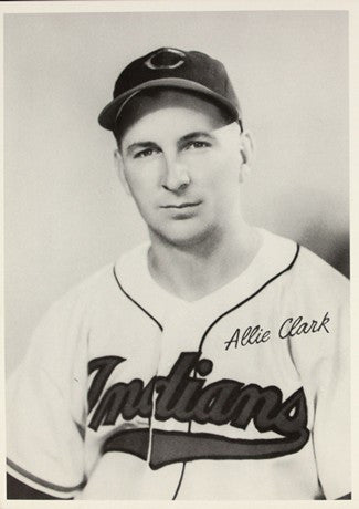 1948 Cleveland Indians Allie Clark AL Baseball Photo Image DD