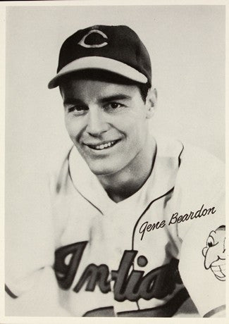 1948 Cleveland Indians Gene Beardon AL Baseball Photo Image DD