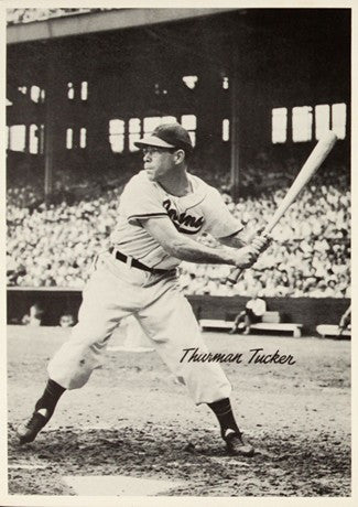 1948 Cleveland Indians Thurman Tucker AL Baseball Photo Image DD
