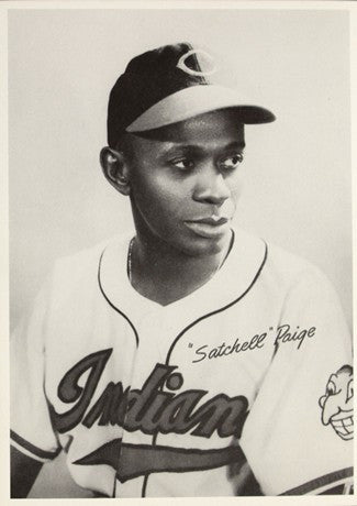 1948 Cleveland Indians Satchell Paige AL Baseball Photo Image DD