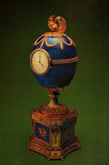 1904 Keltch Chanticleer Easter Faberge Egg Photo Image DD
