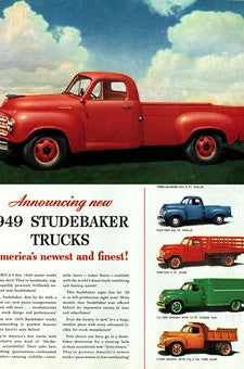1949 Studebaker Trucks Transportation Ad DD