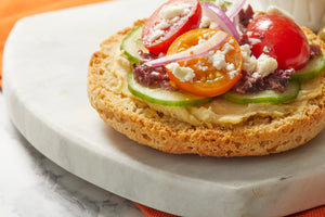 Gluten Free Plain Delicious English Muffin Sandwich