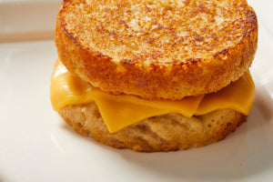 Gluten Free Plain Delicious Biscuit Cheese Sandwich