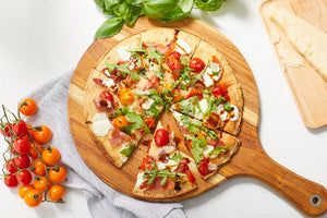 Gluten Free Flatbread Pizza