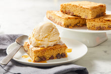 Load image into Gallery viewer, Blonde Brownies with Ice Cream