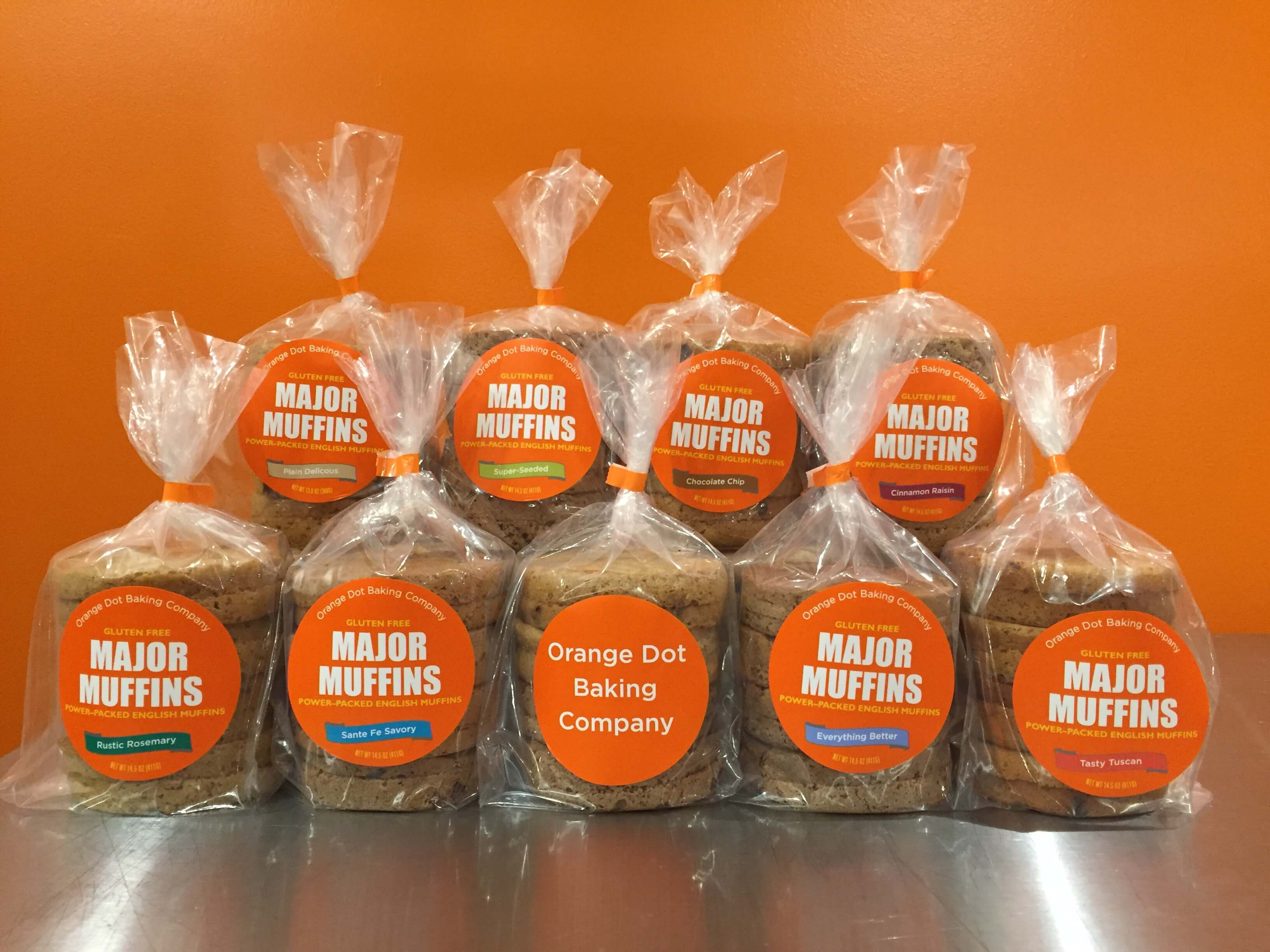 8 packages of Major Muffins