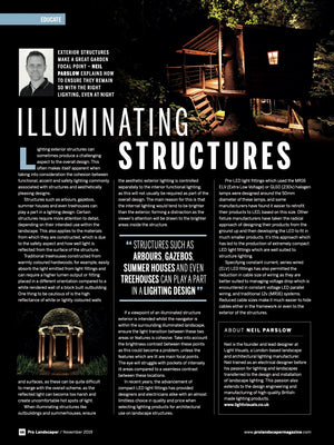 Pro Landscaper November 2019 Illuminating Structures