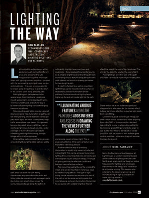 Pro Landscaper October 2019 Lighting The Way