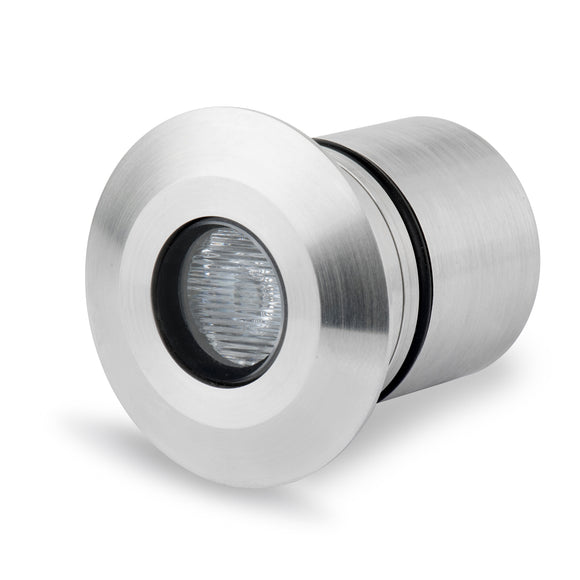 Round Recessed LED Light 316 stainless steel - Architectural and Landscape Lighting - Light Visuals (LV-SS414R)