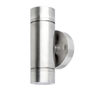 Wall mount Up and Down light 316 marine stainless steel - Light Visuals