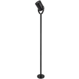 Surface mount LED bracket pole light (LV-BL805) black anodised aluminium - Light Visuals - 1