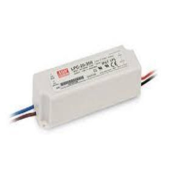 Meanwell 16.8W 350mA IP67 LED Driver - Light Visuals - 1
