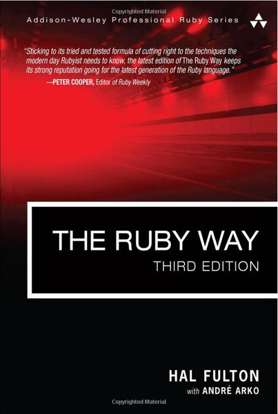 The Ruby Way, 3rd Edition (Signed)