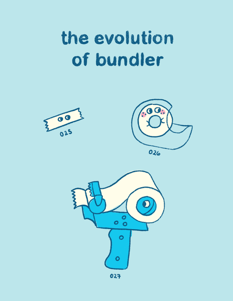 The Evolution of Bundler Zine