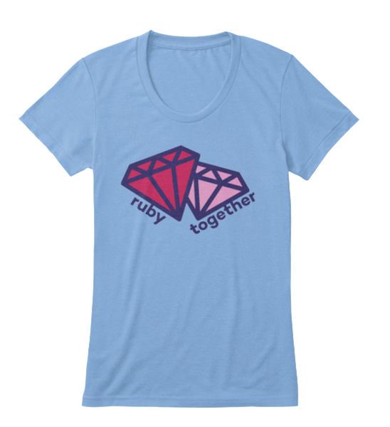 ruby together t-shirt