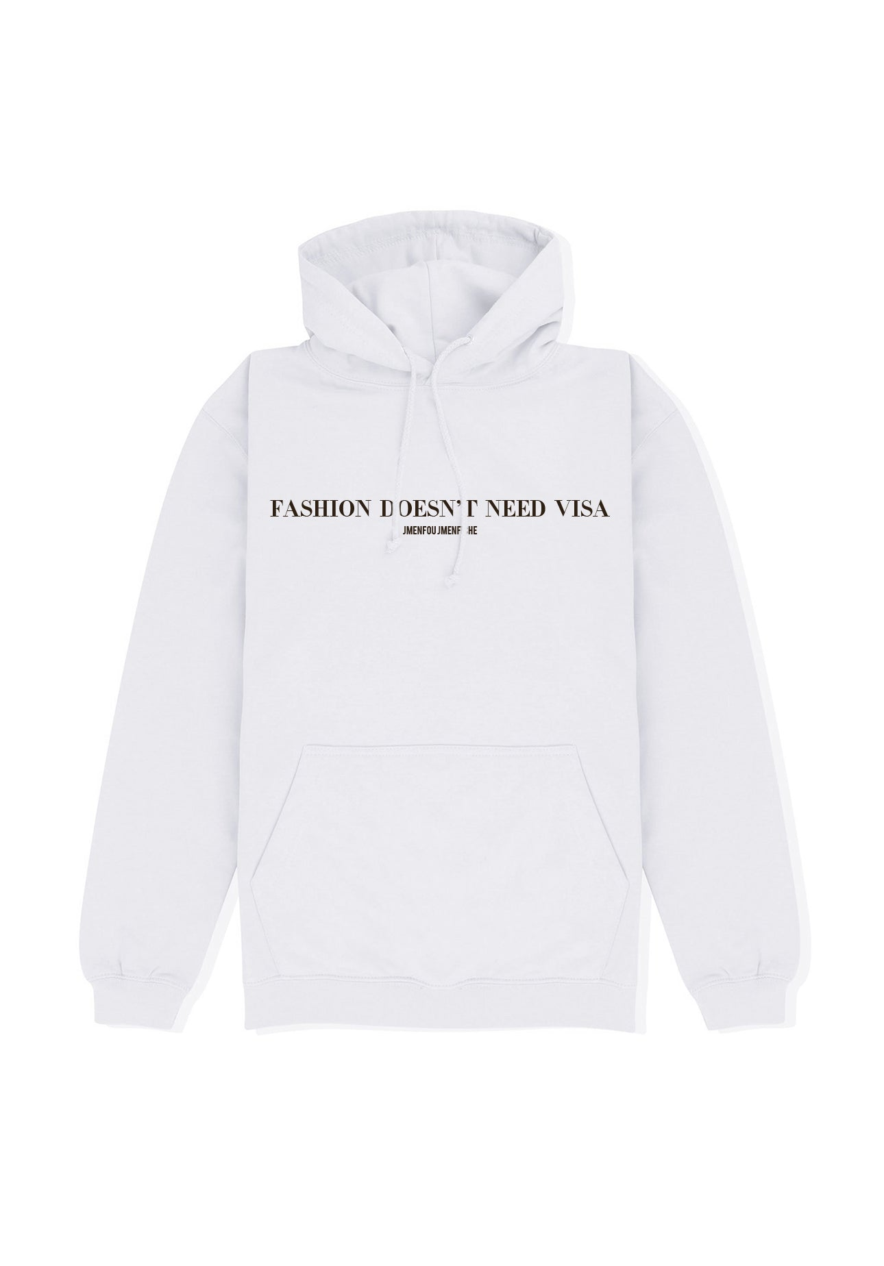 HOODIE FDNV WHITE FONT