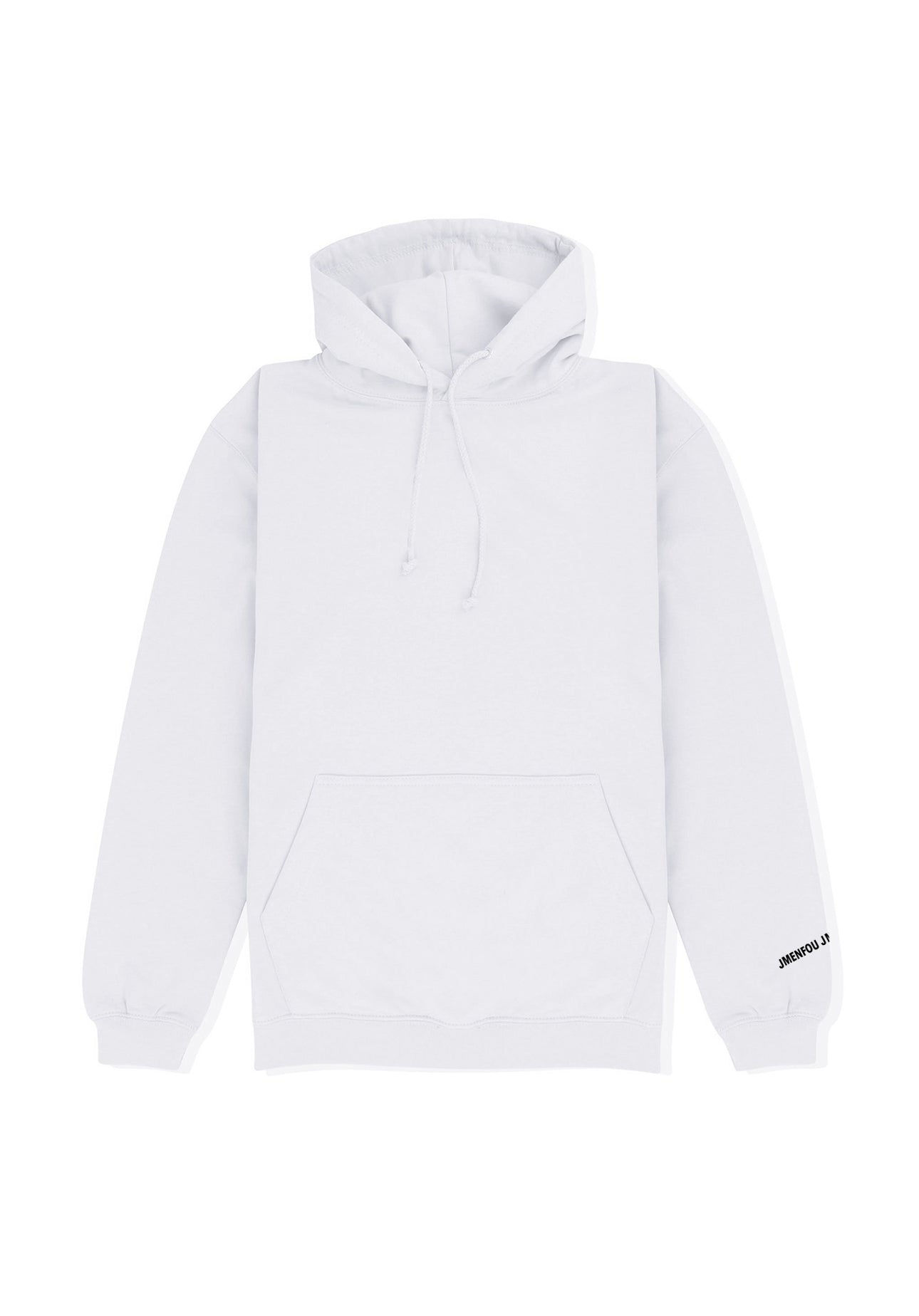 HOODIE RIGHT THINKS WHITE FRONT