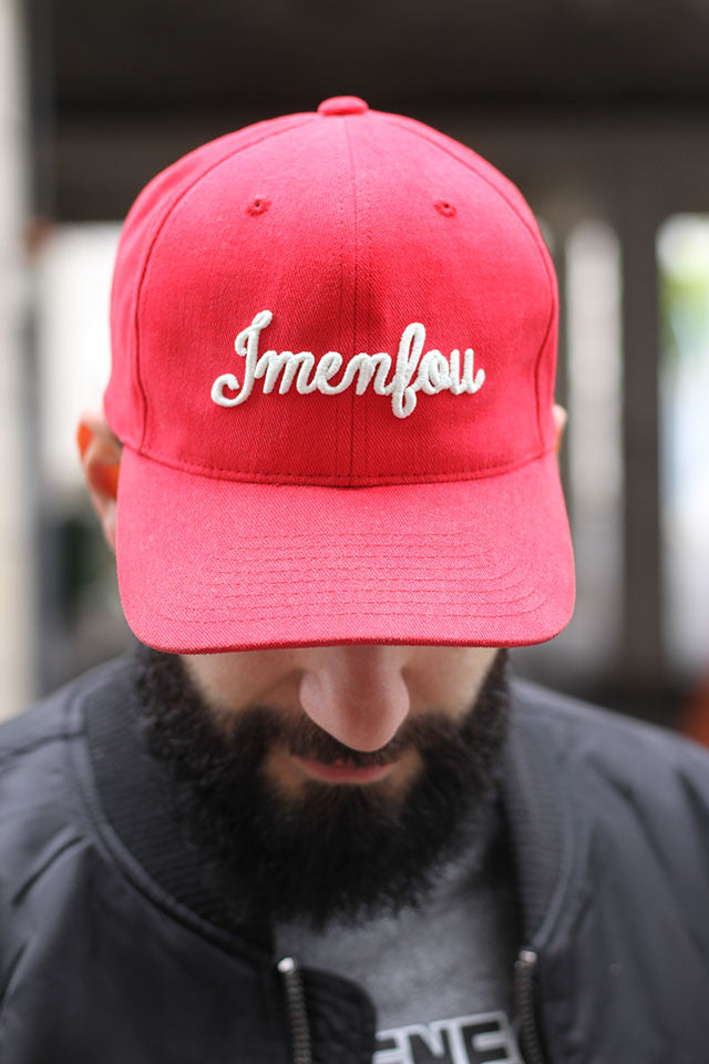 snap back  jmenfou rouge  fosforescente