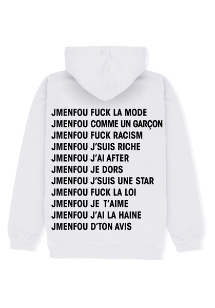 HOODIE RIGHT THINKS WHITE FONT