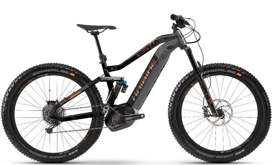 Haibike XDURO Allmtn 6.0 2019 - Full Suspension Electric Mountain Bike