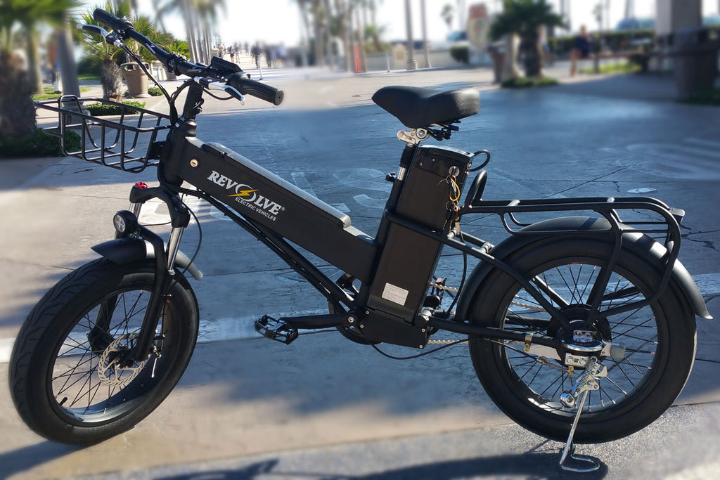Revolve Sixty Plus - Cargo Style Electric Bike