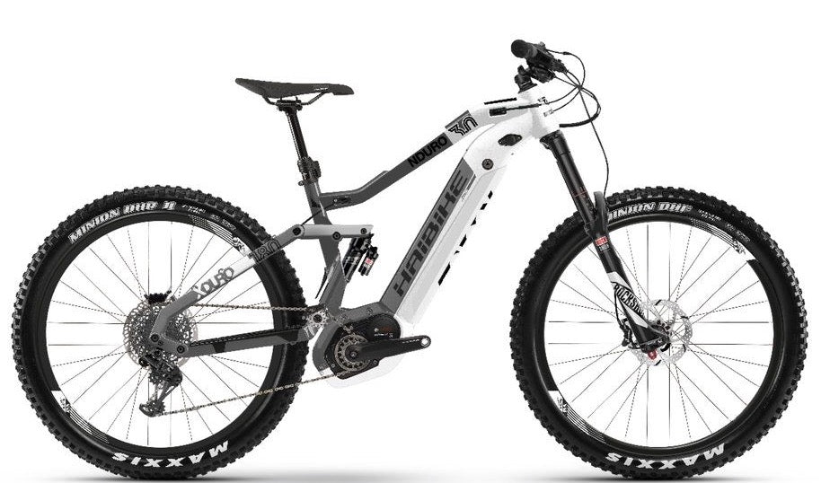haibike xduro nduro 3 0 2019 full suspension electric mountain bike electric bicycle center. Black Bedroom Furniture Sets. Home Design Ideas
