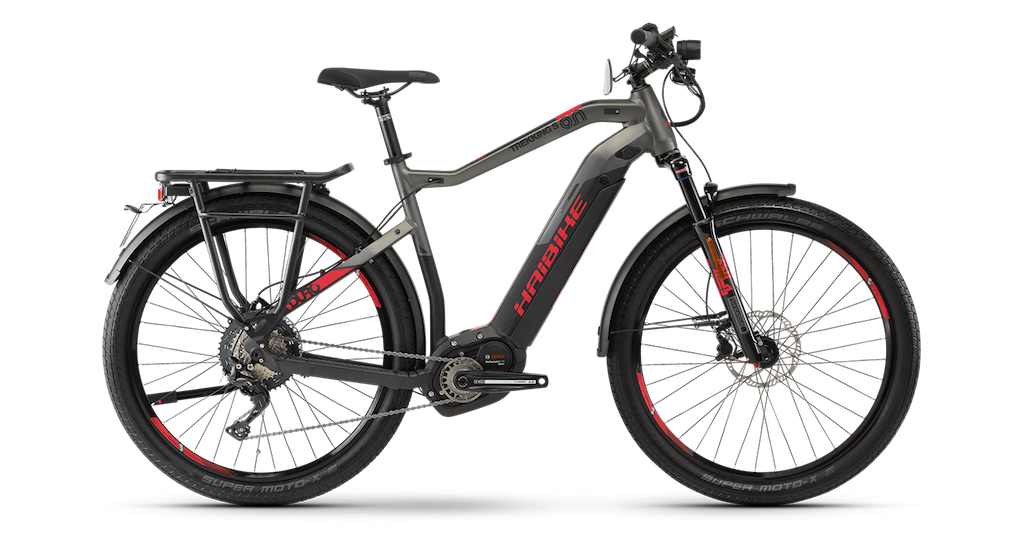 Haibike SDURO Trekking S 9.0 Hi Step 2019 - City Style Electric Bike