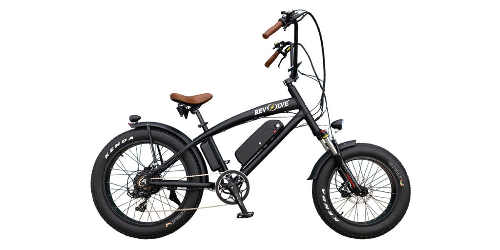 Revolve Chopper - Fat Tire Electric Bike