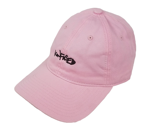 Konfused Script Dad Hat - Pink