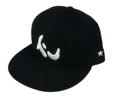 Load image into Gallery viewer, Konfused Logo Snapback Hat - Black