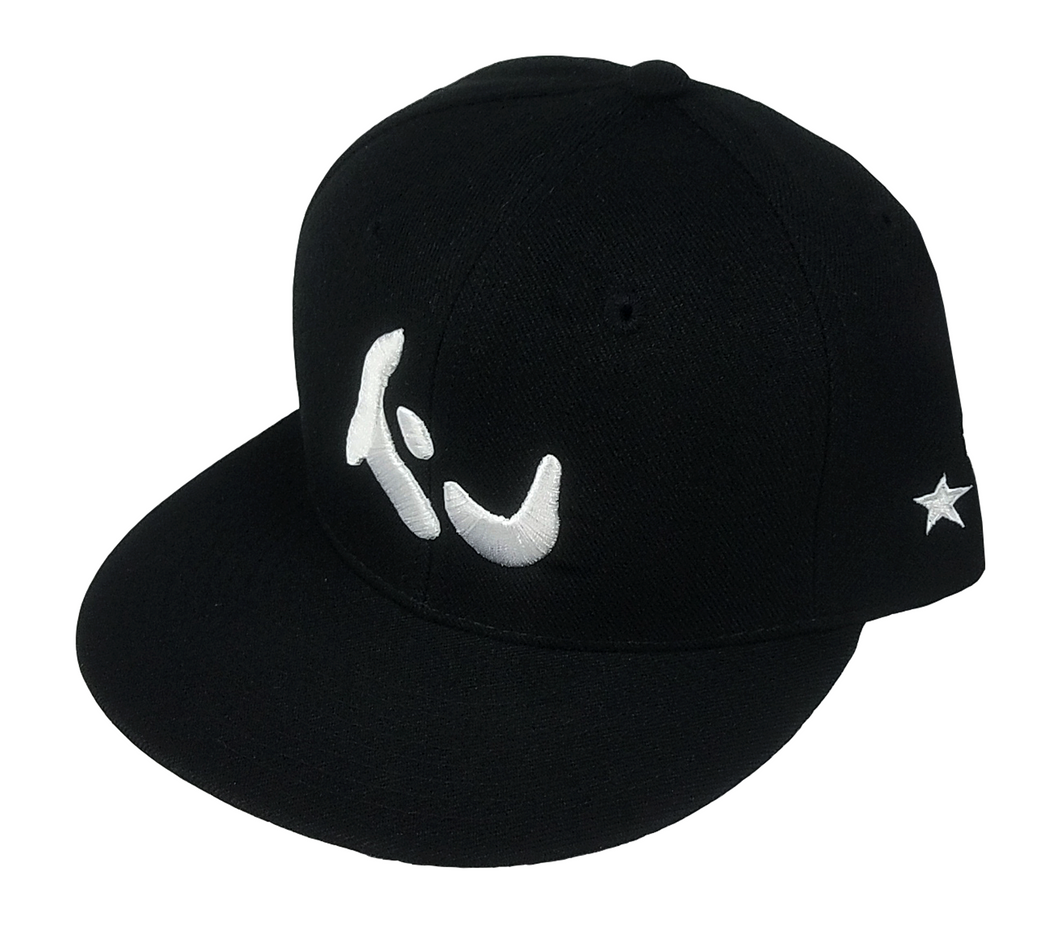 Konfused Logo Snapback Hat - Black