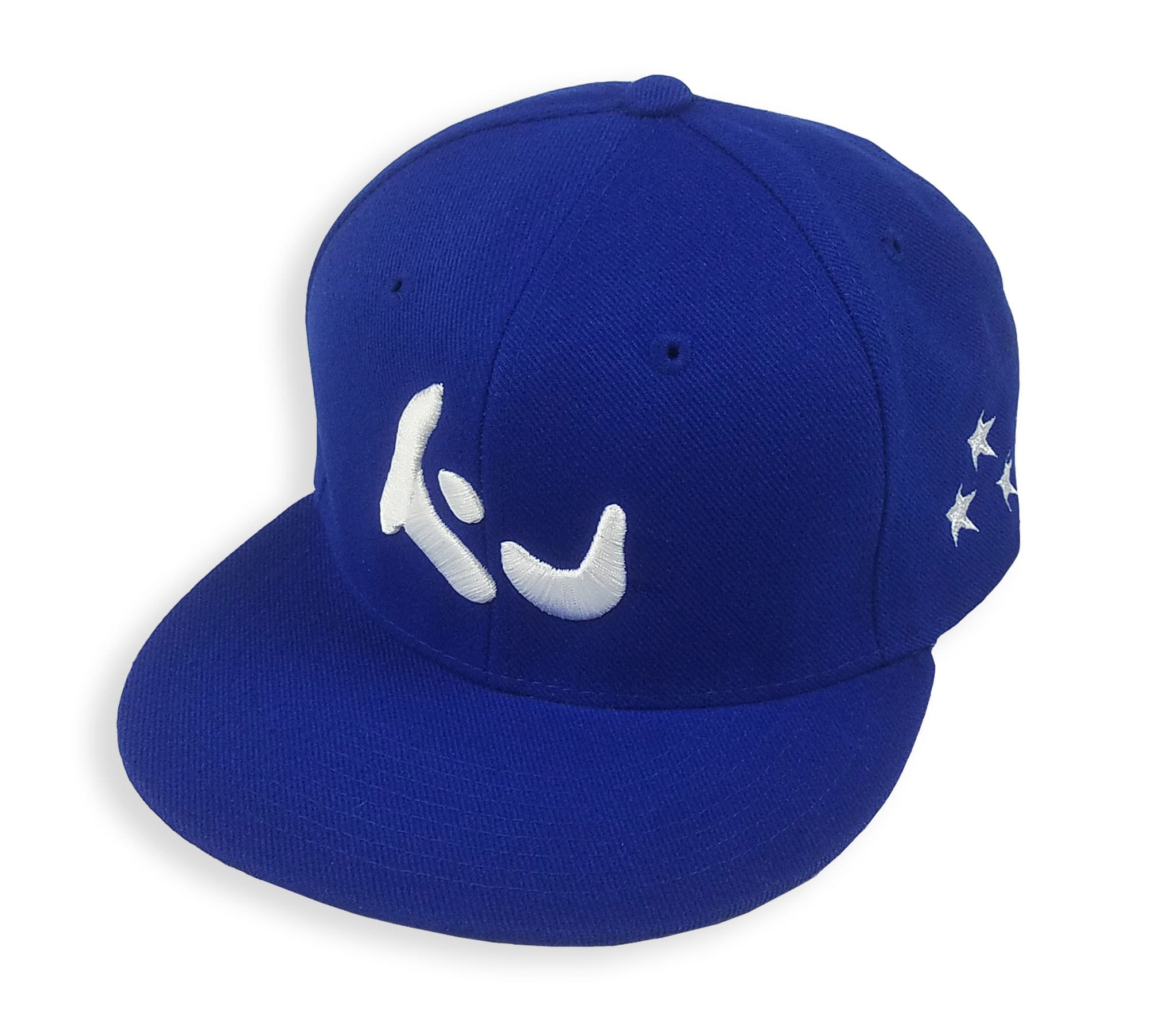 Konfused Logo Snapback Hat - Royal