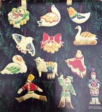 Vintage 12 Days of Christmas Cookie Cutters c.1970s - Attic and Barn Treasures