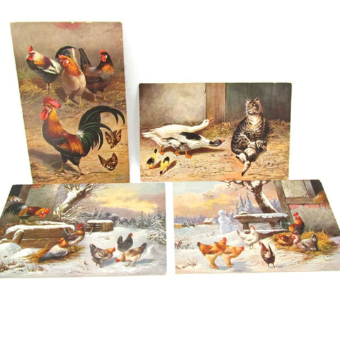 Antique German American Novelty Art Series Unused Postcards - Attic and Barn Treasures