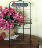 Vintage Bigelow Tea Store Display Rack - Attic and Barn Treasures