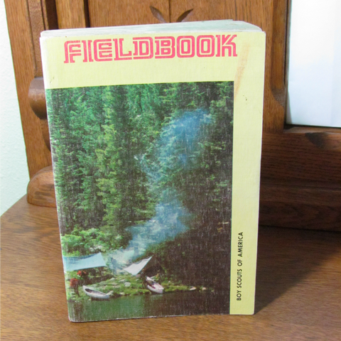 1973 Boy Scouts of America Fieldbook Softcover - Attic and Barn Treasures