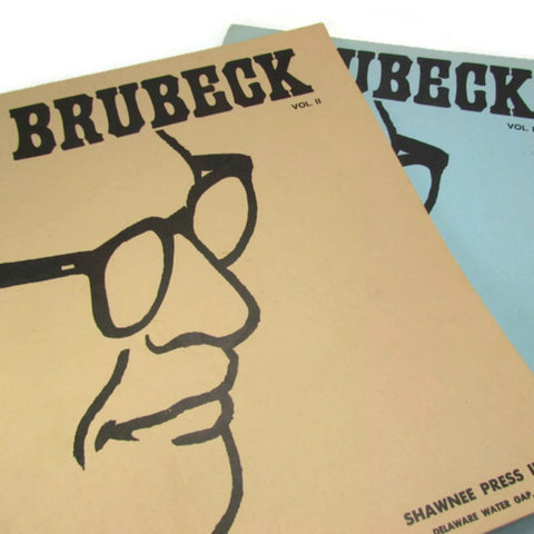 Vintage Brubeck Original Themes Music Score Books For The Piano - Attic and Barn Treasures