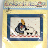 NOS Vintage Bucilla Counted Cross Stitch Farm Bunny - Attic and Barn Treasures