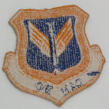 Vintage Blue and Gold Can Do Missile Artillery Cloth Sew On Patch - Attic and Barn Treasures