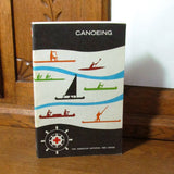 Vintage 1977 Canoeing Book by The American Red Cross - Attic and Barn Treasures