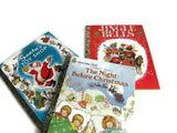 Vintage Little Golden Books Set of 3 Christmas Titles - Attic and Barn Treasures