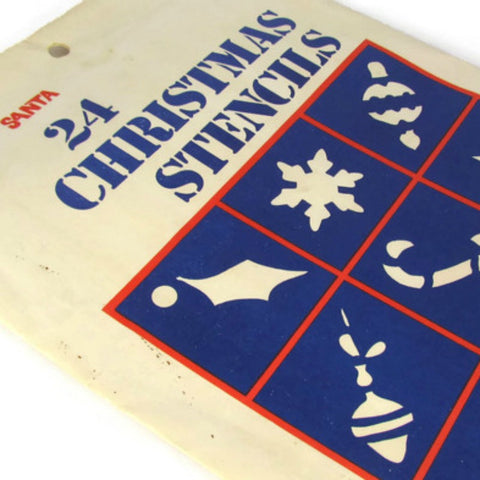 Vintage Christmas Stencils Unopened Package - Attic and Barn Treasures