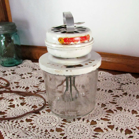 Vintage Electromix Electric Mixer by MelJax c. 1930's - Attic and Barn Treasures