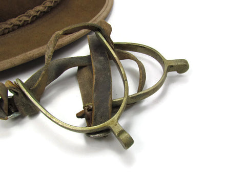 Vintage English Riding Spurs Never Rust - Attic and Barn Treasures
