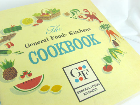 Vintage 1959 General Foods Kitchens Cookbook - Attic and Barn Treasures